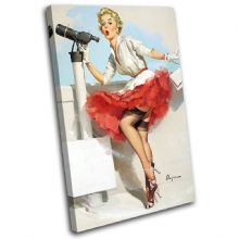 Vintage Girl Retro Pin-ups - 13-2078(00B)-SG32-PO